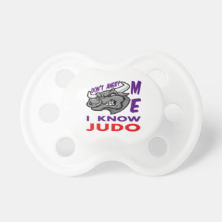 Don't angry me, i know judo BooginHead pacifier