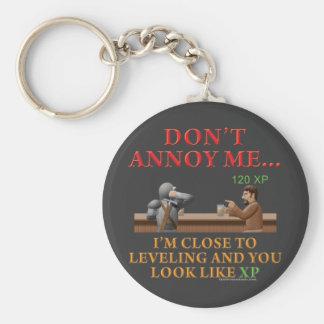 Don't Annoy Me Basic Round Button Keychain