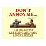 Don't Annoy Me Postcard