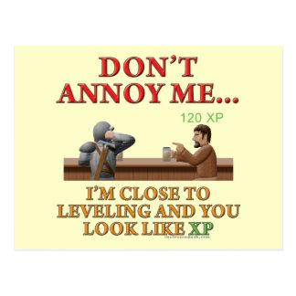 Don't Annoy Me Postcard