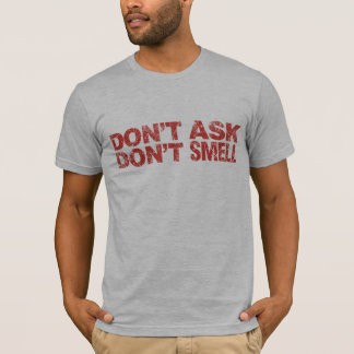 Don't Ask Don't Smell: American Apparel T-Shirt