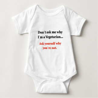 Don't ask me baby bodysuit