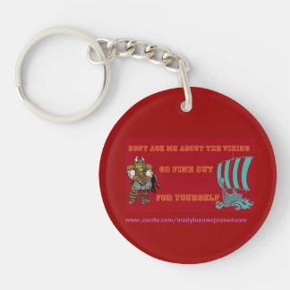 dont ask me keychain