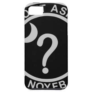 Don't Ask UFO Hunters None of Your F'n Business iPhone 5 Covers