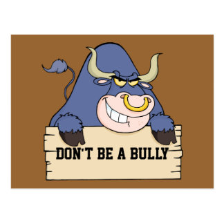 Don't Be a Bully Postcard
