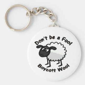 Don't Be a Fool Keyring Key Chains