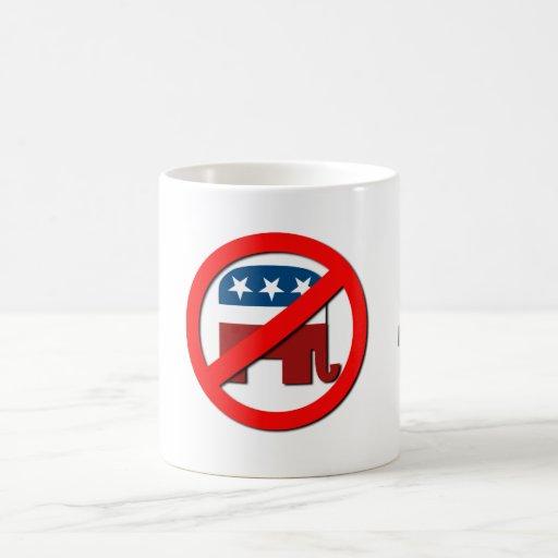 Don't be a Republican't Classic White Coffee Mug