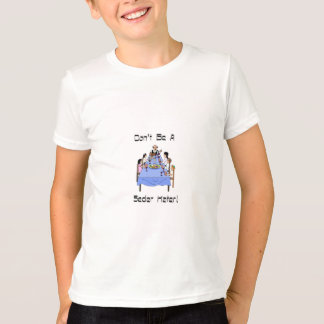 Don't Be A Seder Hater Kid's Ringer T-Shirt