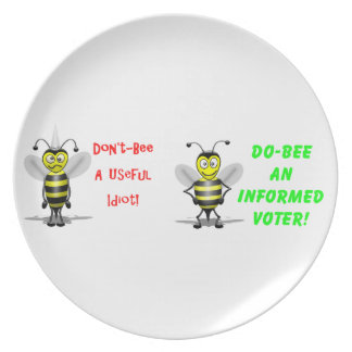 Don't Be A Useful Idiot Dinner Plate