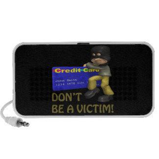 Dont Be A Victim Mini Speakers
