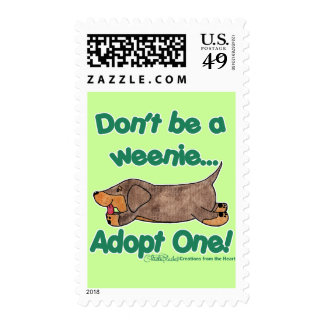 Don't be a Weenie! Postage