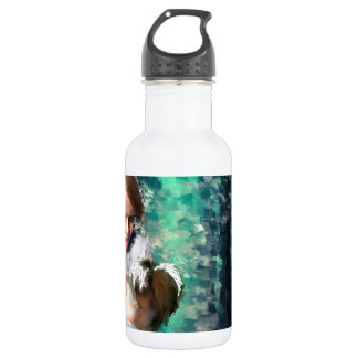 dont be afraid to cry' 18oz water bottle