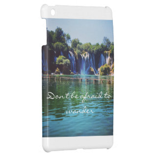 Don't be afraid to Wander iPad case
