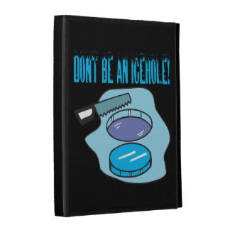 Dont Be An Icehole iPad Folio Case