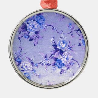 Don't be Blue Fifties Floral. PJ Metal Ornament