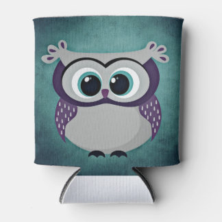 Don't Be Blue Owl Can Cooler