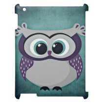 Don't Be Blue Owl iPad Case