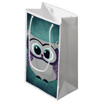 Don't Be Blue Owl Small Gift Bag
