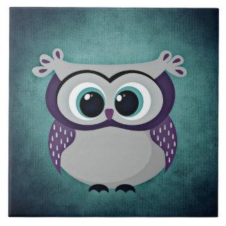 Don't Be Blue Owl Tile