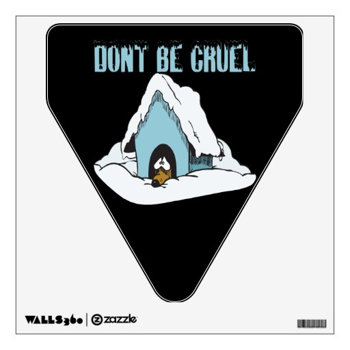 Dont Be Cruel Room Graphic