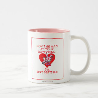 Don't Be Mad Two-Tone Coffee Mug