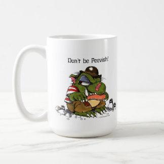 """Don't be Peevish!"" mug by Mercer Mayer"