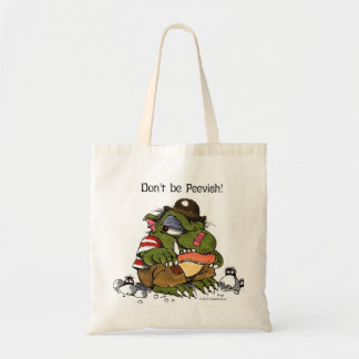 """""""Don't be Peevish!"""" tote by Mercer Mayer"""