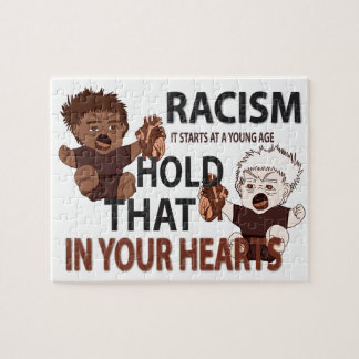 Don't Be Racist Jigsaw Puzzles