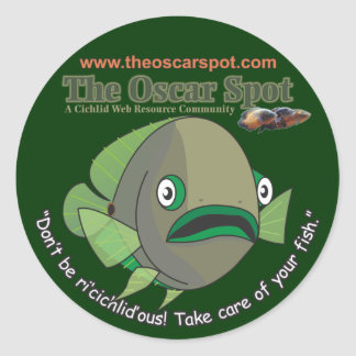 Don't Be Ri'cichlid'ous! Classic Round Sticker