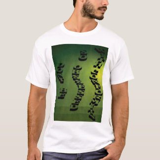 """DONT BE SO OBSSESSED WITH CONFORMITY"""" Green T-Shirt"""
