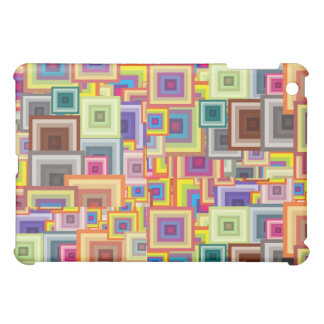 Don't Be Square Abstract iPad Case