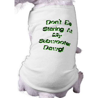 Don't Be Staring At My Subwoofer Dawg! T-Shirt