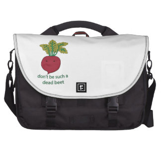 Don't Be Such A Dead Beet Laptop Bag