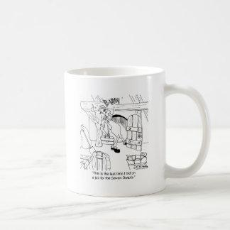 Don't Bid On Jobs With 3 Ft. Doors Coffee Mug