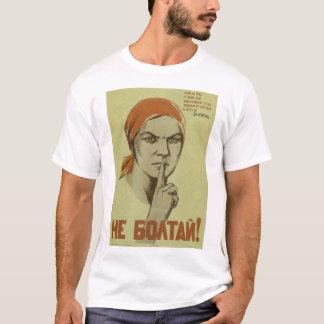 Don't blab! (1941)_Propaganda Poster T-Shirt