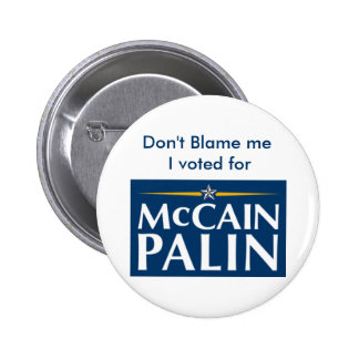 Don't Blame me... Pins
