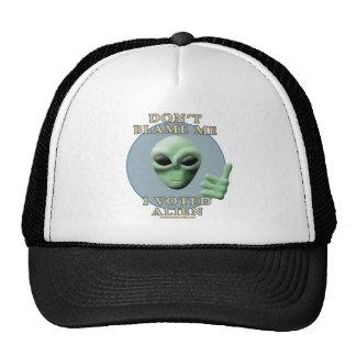 Don't Blame Me, I Voted Alien Trucker Hat