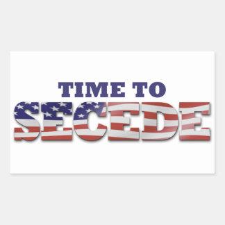 Don't Blame Me I Voted for MITT Rectangular Sticker