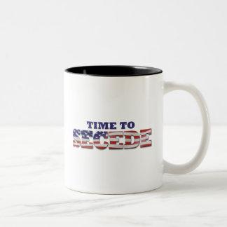 Don't Blame Me I Voted for MITT Two-Tone Coffee Mug