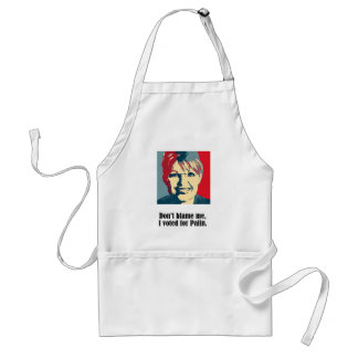 Don't Blame me, I voted for Sarah Palin Adult Apron