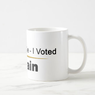 Don't Blame Me I Voted McCain Mug