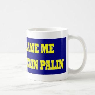 Don't Blame Me I Voted McCain Mugs