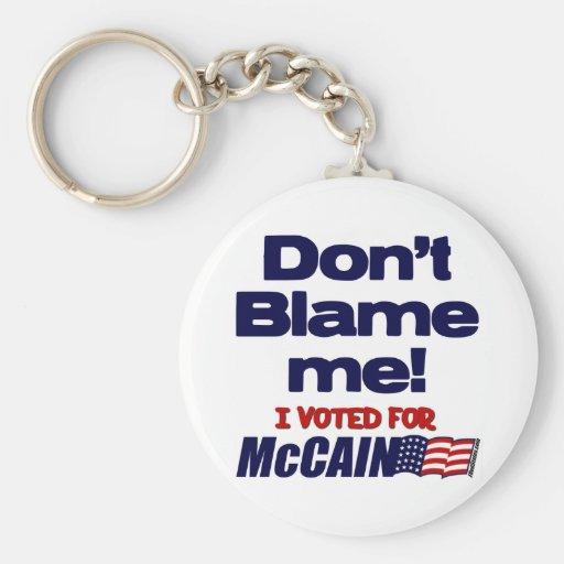 Don't Blame Me! Key Chain