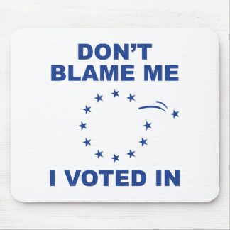 Don't Blame Me Mouse Pad