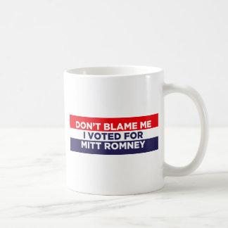 Don't Blame Me Mugs