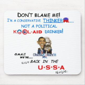 Don't blame me pad mousepad