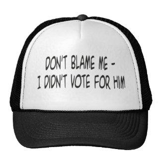 dont blame me trucker hat
