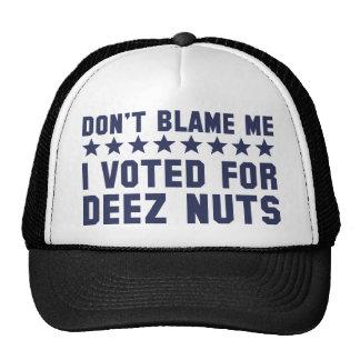 Don't Blame Me Trucker Hat