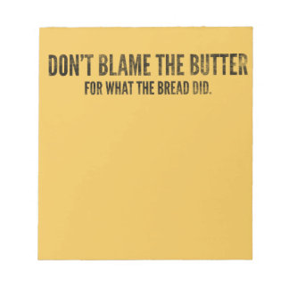 Don't Blame The Butter Keto Gift Note Pad