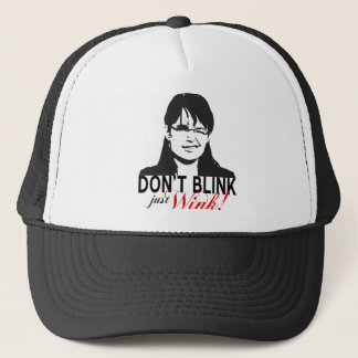 Don't Blink Just Wink Cap